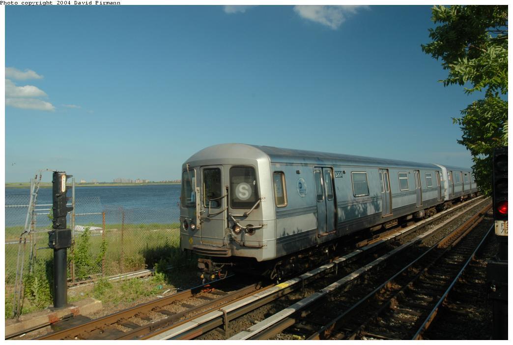 (141k, 1044x701)<br><b>Country:</b> United States<br><b>City:</b> New York<br><b>System:</b> New York City Transit<br><b>Line:</b> IND Rockaway<br><b>Location:</b> Broad Channel <br><b>Route:</b> S<br><b>Car:</b> R-44 (St. Louis, 1971-73) 5304 <br><b>Photo by:</b> David Pirmann<br><b>Date:</b> 6/19/2004<br><b>Viewed (this week/total):</b> 1 / 2815