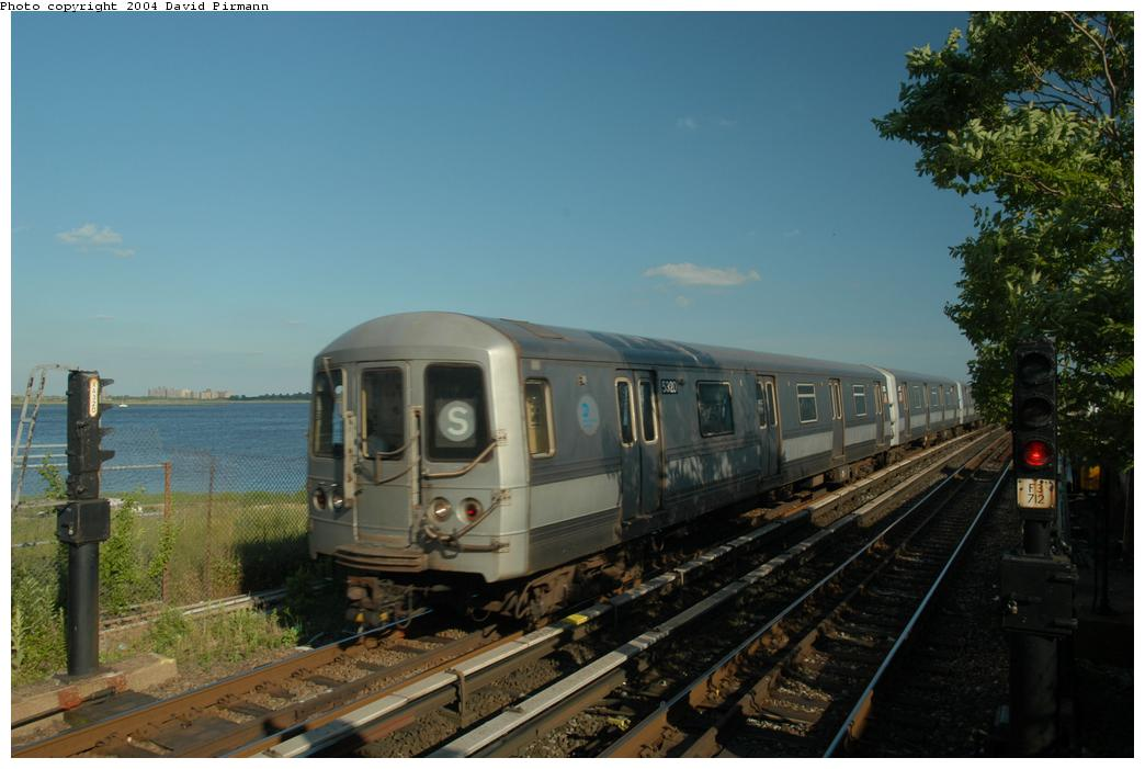 (141k, 1044x701)<br><b>Country:</b> United States<br><b>City:</b> New York<br><b>System:</b> New York City Transit<br><b>Line:</b> IND Rockaway<br><b>Location:</b> Broad Channel <br><b>Route:</b> S<br><b>Car:</b> R-44 (St. Louis, 1971-73) 5320 <br><b>Photo by:</b> David Pirmann<br><b>Date:</b> 6/19/2004<br><b>Viewed (this week/total):</b> 0 / 3107