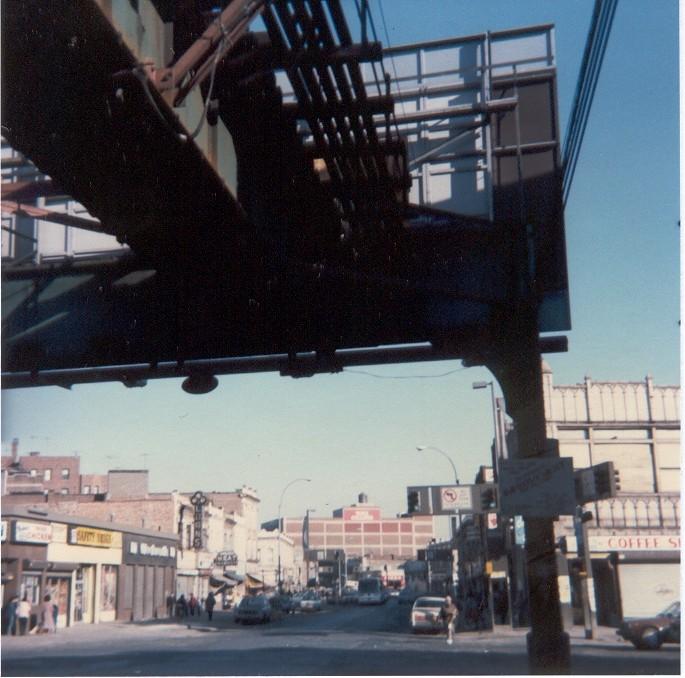 (128k, 685x678)<br><b>Country:</b> United States<br><b>City:</b> New York<br><b>System:</b> New York City Transit<br><b>Line:</b> BMT Nassau Street/Jamaica Line<br><b>Location:</b> Sutphin Boulevard (Demolished) <br><b>Photo by:</b> Thomas Lacker<br><b>Date:</b> 1/1985<br><b>Viewed (this week/total):</b> 2 / 11301