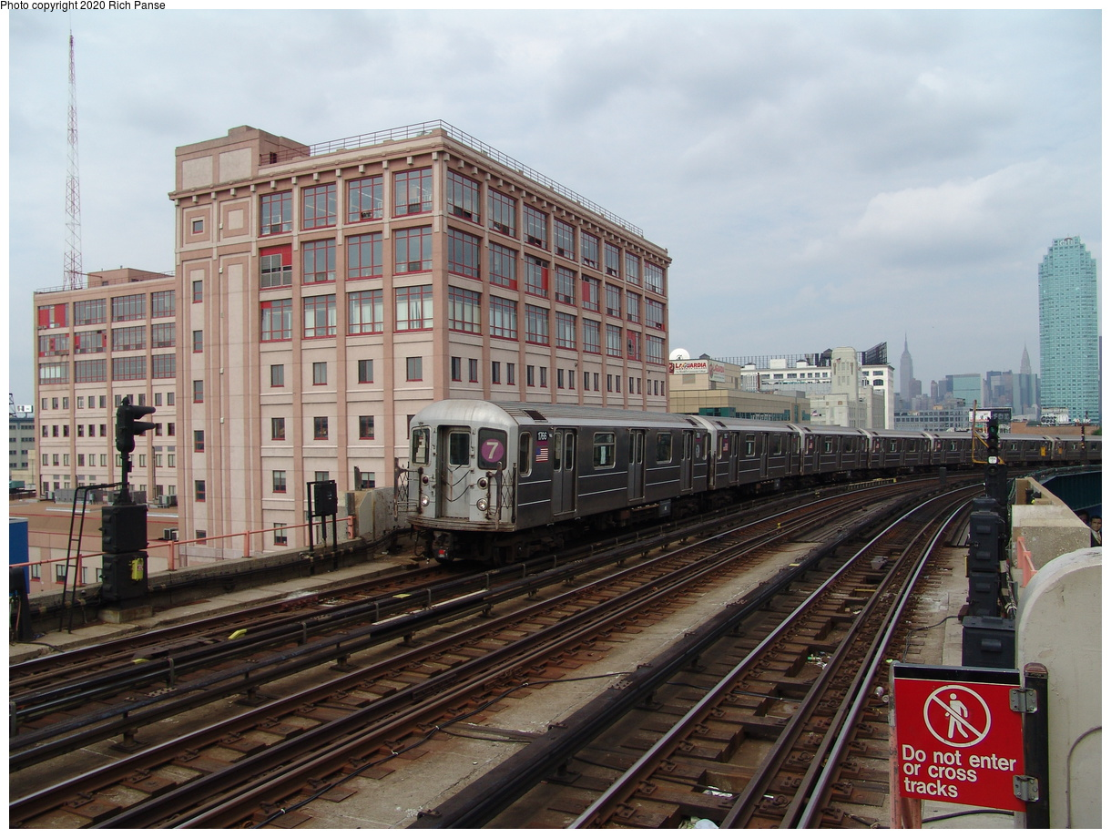 (103k, 820x620)<br><b>Country:</b> United States<br><b>City:</b> New York<br><b>System:</b> New York City Transit<br><b>Line:</b> IRT Flushing Line<br><b>Location:</b> 33rd Street/Rawson Street <br><b>Route:</b> 7<br><b>Car:</b> R-62A (Bombardier, 1984-1987)  1766 <br><b>Photo by:</b> Richard Panse<br><b>Date:</b> 6/19/2004<br><b>Viewed (this week/total):</b> 1 / 3285