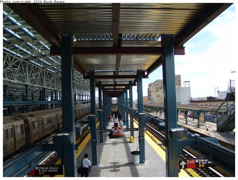 (117k, 820x620)<br><b>Country:</b> United States<br><b>City:</b> New York<br><b>System:</b> New York City Transit<br><b>Location:</b> Coney Island/Stillwell Avenue<br><b>Photo by:</b> Richard Panse<br><b>Date:</b> 6/13/2004<br><b>Viewed (this week/total):</b> 3 / 2640