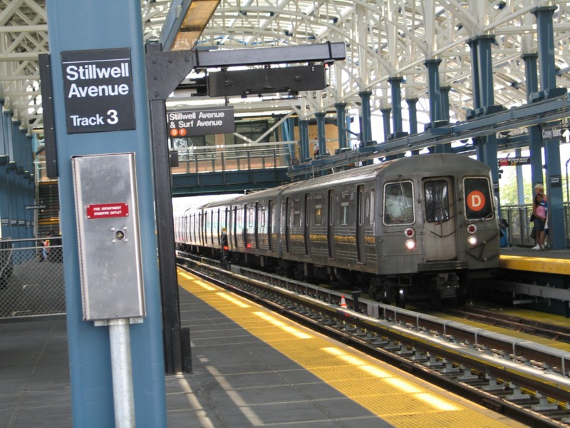 (160k, 800x600)<br><b>Country:</b> United States<br><b>City:</b> New York<br><b>System:</b> New York City Transit<br><b>Location:</b> Coney Island/Stillwell Avenue<br><b>Route:</b> D<br><b>Car:</b> R-68 (Westinghouse-Amrail, 1986-1988)  2670 <br><b>Photo by:</b> Neil Feldman<br><b>Date:</b> 7/1/2004<br><b>Viewed (this week/total):</b> 0 / 5588