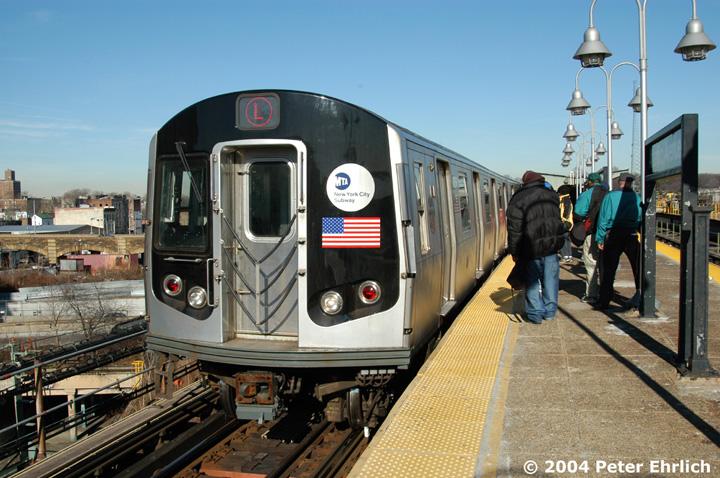 (167k, 720x478)<br><b>Country:</b> United States<br><b>City:</b> New York<br><b>System:</b> New York City Transit<br><b>Line:</b> BMT Canarsie Line<br><b>Location:</b> Atlantic Avenue <br><b>Route:</b> L<br><b>Car:</b> R-143 (Kawasaki, 2001-2002) 8256 <br><b>Photo by:</b> Peter Ehrlich<br><b>Date:</b> 12/28/2003<br><b>Viewed (this week/total):</b> 0 / 4311