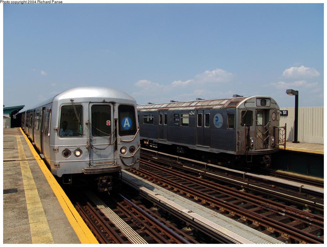 (161k, 1044x788)<br><b>Country:</b> United States<br><b>City:</b> New York<br><b>System:</b> New York City Transit<br><b>Line:</b> IND Fulton Street Line<br><b>Location:</b> 80th Street/Hudson Street <br><b>Route:</b> A<br><b>Car:</b> R-38 (St. Louis, 1966-1967)  4041 <br><b>Photo by:</b> Richard Panse<br><b>Date:</b> 7/17/2004<br><b>Viewed (this week/total):</b> 0 / 4478