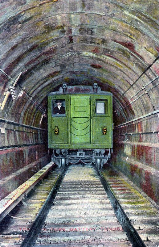 (199k, 516x800)<br><b>Country:</b> United States<br><b>City:</b> New York<br><b>System:</b> New York City Transit<br><b>Line:</b> IRT Brooklyn Line<br><b>Location:</b> Borough Hall (East Side Branch) <br><b>Collection of:</b> Ed Levine<br><b>Notes:</b> Postcard: Tunnel in Tube - Battery Tunnel New York<br><b>Viewed (this week/total):</b> 1 / 2149