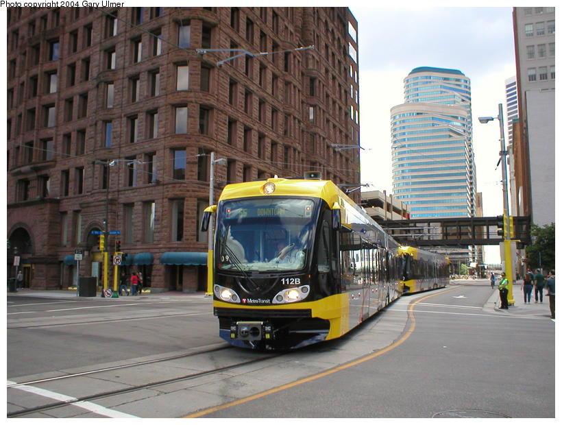 (108k, 820x620)<br><b>Country:</b> United States<br><b>City:</b> Minneapolis, MN<br><b>System:</b> MNDOT Light Rail Transit<br><b>Line:</b> Hiawatha Line<br><b>Location:</b> <b><u>Warehouse District/Hennepin Ave </b></u><br><b>Photo by:</b> Gary Ulmer<br><b>Date:</b> 6/24/2004<br><b>Viewed (this week/total):</b> 0 / 3003