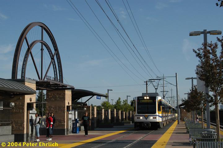 (143k, 720x478)<br><b>Country:</b> United States<br><b>City:</b> Sacramento, CA<br><b>System:</b> SACRT Light Rail<br><b>Location:</b> City College <br><b>Car:</b> Sacramento CAF LRV  225 <br><b>Photo by:</b> Peter Ehrlich<br><b>Date:</b> 6/28/2004<br><b>Viewed (this week/total):</b> 4 / 1287