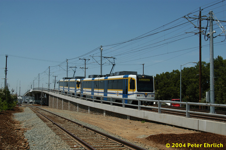 (150k, 720x478)<br><b>Country:</b> United States<br><b>City:</b> Sacramento, CA<br><b>System:</b> SACRT Light Rail<br><b>Location:</b> Sunrise <br><b>Car:</b> Sacramento CAF LRV  212 <br><b>Photo by:</b> Peter Ehrlich<br><b>Date:</b> 6/28/2004<br><b>Viewed (this week/total):</b> 1 / 1461