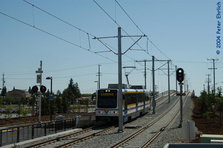 (132k, 720x478)<br><b>Country:</b> United States<br><b>City:</b> Sacramento, CA<br><b>System:</b> SACRT Light Rail<br><b>Location:</b> Sunrise <br><b>Car:</b> Sacramento CAF LRV  221 <br><b>Photo by:</b> Peter Ehrlich<br><b>Date:</b> 6/27/2004<br><b>Viewed (this week/total):</b> 1 / 1294