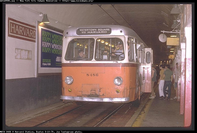 (77k, 788x532)<br><b>Country:</b> United States<br><b>City:</b> Boston, MA<br><b>System:</b> MBTA Boston<br><b>Line:</b> MBTA Trolleybus (71,72,73)<br><b>Location:</b> Harvard Busway (71)<br><b>Car:</b> MBTA Trolleybus 8486 <br><b>Collection of:</b> Joe Testagrose<br><b>Viewed (this week/total):</b> 1 / 3118