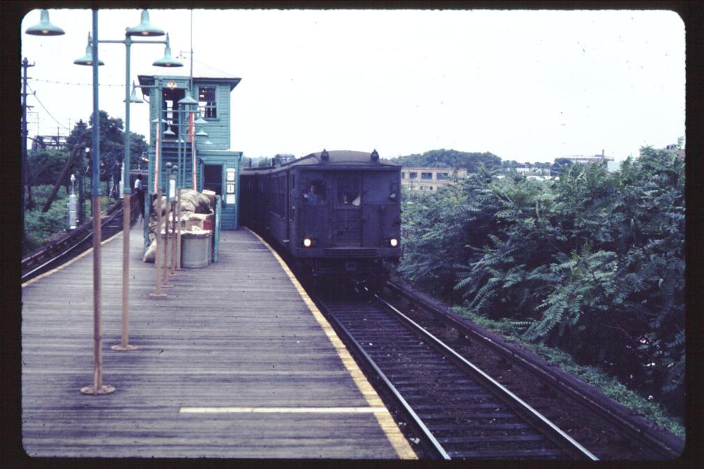 (111k, 1008x672)<br><b>Country:</b> United States<br><b>City:</b> New York<br><b>System:</b> New York City Transit<br><b>Line:</b> BMT Myrtle Avenue Line<br><b>Location:</b> Metropolitan Avenue <br><b>Car:</b> BMT Q  <br><b>Photo by:</b> Joe Korman<br><b>Viewed (this week/total):</b> 1 / 3369
