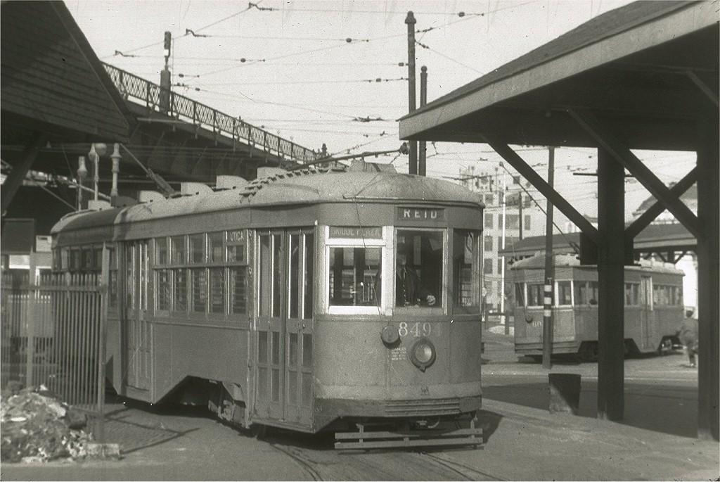 (201k, 1024x685)<br><b>Country:</b> United States<br><b>City:</b> New York<br><b>System:</b> Brooklyn & Queens Transit<br><b>Location:</b> Williamsburg Bridge Plaza<br><b>Route:</b> Reid<br><b>Car:</b> B&QT/BMT 8494 <br><b>Collection of:</b> Joe Testagrose<br><b>Viewed (this week/total):</b> 0 / 1775