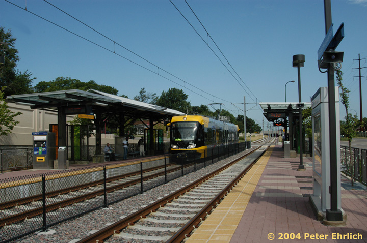 (159k, 720x478)<br><b>Country:</b> United States<br><b>City:</b> Minneapolis, MN<br><b>System:</b> MNDOT Light Rail Transit<br><b>Line:</b> Hiawatha Line<br><b>Location:</b> <b><u>50th Street/Minnehaha Park </b></u><br><b>Car:</b> Bombardier Flexity Swift  102 <br><b>Photo by:</b> Peter Ehrlich<br><b>Date:</b> 8/2/2004<br><b>Viewed (this week/total):</b> 2 / 2010
