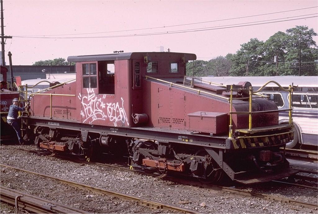 (249k, 1024x692)<br><b>Country:</b> United States<br><b>City:</b> New York<br><b>System:</b> New York City Transit<br><b>Location:</b> 36th Street Yard<br><b>Car:</b> SBK Steeplecab 7 <br><b>Collection of:</b> Joe Testagrose<br><b>Date:</b> 5/1975<br><b>Viewed (this week/total):</b> 1 / 2307