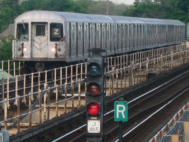 (83k, 640x480)<br><b>Country:</b> United States<br><b>City:</b> New York<br><b>System:</b> New York City Transit<br><b>Line:</b> BMT Nassau Street/Jamaica Line<br><b>Location:</b> Cypress Hills <br><b>Route:</b> Z<br><b>Car:</b> R-42 (St. Louis, 1969-1970)  4799 <br><b>Photo by:</b> Dante D. Angerville<br><b>Date:</b> 5/20/2004<br><b>Viewed (this week/total):</b> 0 / 3687