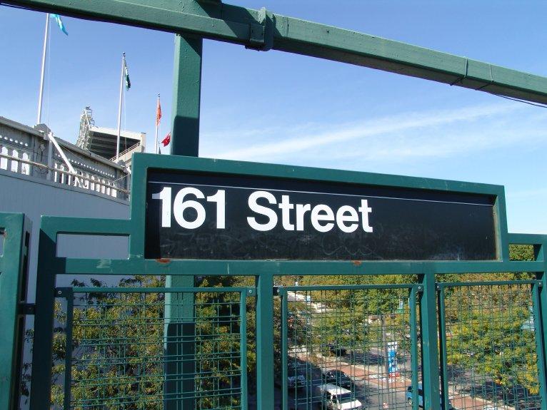 (101k, 766x575)<br><b>Country:</b> United States<br><b>City:</b> New York<br><b>System:</b> New York City Transit<br><b>Line:</b> IRT Woodlawn Line<br><b>Location:</b> 161st Street/River Avenue (Yankee Stadium) <br><b>Photo by:</b> Richard Panse<br><b>Date:</b> 10/13/2004<br><b>Viewed (this week/total):</b> 2 / 2873
