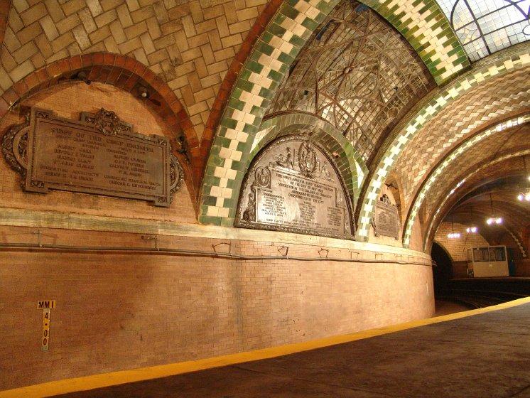 (118k, 746x560)<br><b>Country:</b> United States<br><b>City:</b> New York<br><b>System:</b> New York City Transit<br><b>Line:</b> IRT East Side Line<br><b>Location:</b> City Hall <br><b>Photo by:</b> Richard Panse<br><b>Date:</b> 10/27/2004<br><b>Viewed (this week/total):</b> 0 / 12820