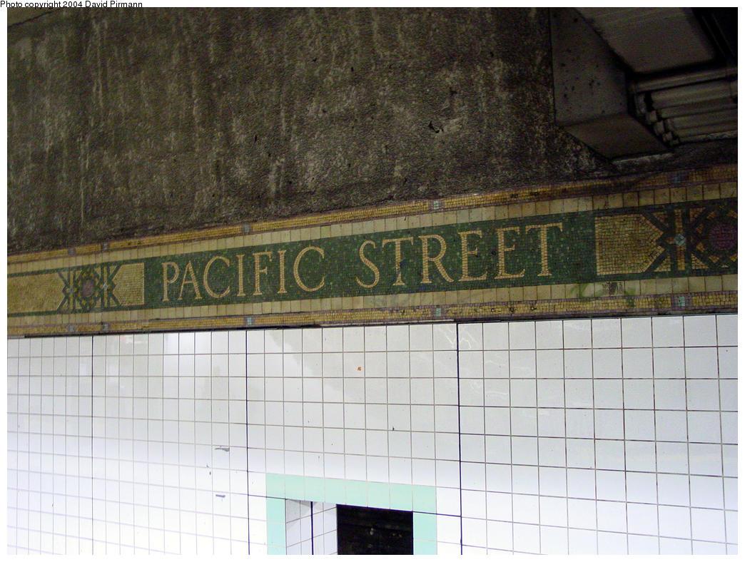 (167k, 1044x788)<br><b>Country:</b> United States<br><b>City:</b> New York<br><b>System:</b> New York City Transit<br><b>Line:</b> BMT 4th Avenue<br><b>Location:</b> Pacific Street <br><b>Photo by:</b> David Pirmann<br><b>Date:</b> 10/29/2004<br><b>Viewed (this week/total):</b> 0 / 2929