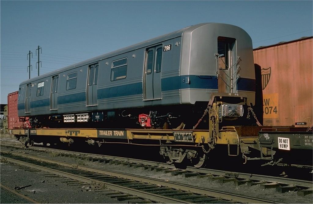 (185k, 1024x669)<br><b>Country:</b> United States<br><b>City:</b> Secaucus, NJ<br><b>System:</b> New York City Transit<br><b>Location:</b> Croxton Yard (NYCTA Equipment Delivery)<br><b>Car:</b> R-46 (Pullman-Standard, 1974-75) 796 <br><b>Photo by:</b> Willie Rosenberg<br><b>Collection of:</b> Joe Testagrose<br><b>Date:</b> 10/11/1976<br><b>Viewed (this week/total):</b> 1 / 3340