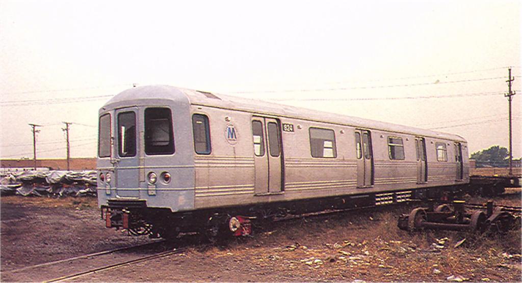 (148k, 1024x556)<br><b>Country:</b> United States<br><b>City:</b> New York<br><b>System:</b> New York City Transit<br><b>Location:</b> Pullman-Standard plant, Chicago, IL<br><b>Car:</b> R-46 (Pullman-Standard, 1974-75) 824 <br><b>Photo by:</b> Doug Grotjahn<br><b>Collection of:</b> Joe Testagrose<br><b>Date:</b> 9/25/1976<br><b>Viewed (this week/total):</b> 1 / 5045