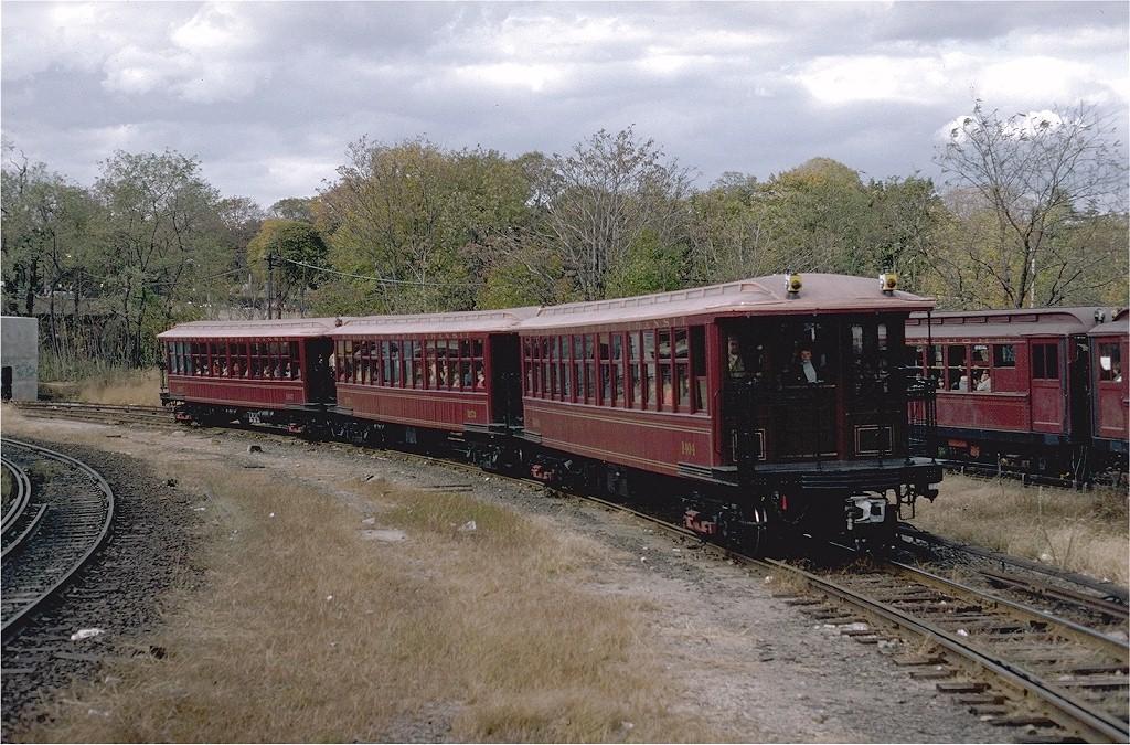 (262k, 1024x675)<br><b>Country:</b> United States<br><b>City:</b> New York<br><b>System:</b> New York City Transit<br><b>Line:</b> BMT West End Line<br><b>Location:</b> 9th Avenue <br><b>Route:</b> Fan Trip<br><b>Car:</b> BMT Elevated Gate Car 1404-1273-1407 <br><b>Photo by:</b> Steve Zabel<br><b>Collection of:</b> Joe Testagrose<br><b>Date:</b> 11/1/1980<br><b>Viewed (this week/total):</b> 1 / 2842
