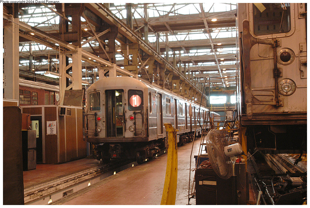 (298k, 1044x701)<br><b>Country:</b> United States<br><b>City:</b> New York<br><b>System:</b> New York City Transit<br><b>Location:</b> 207th Street Shop<br><b>Car:</b> R-62A (Bombardier, 1984-1987)  2395 <br><b>Photo by:</b> David Pirmann<br><b>Date:</b> 11/6/2004<br><b>Viewed (this week/total):</b> 1 / 3644