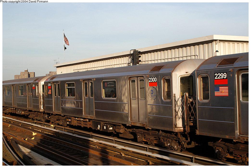 (248k, 1044x701)<br><b>Country:</b> United States<br><b>City:</b> New York<br><b>System:</b> New York City Transit<br><b>Line:</b> IRT West Side Line<br><b>Location:</b> 215th Street <br><b>Route:</b> 1<br><b>Car:</b> R-62A (Bombardier, 1984-1987)  2300 <br><b>Photo by:</b> David Pirmann<br><b>Date:</b> 11/6/2004<br><b>Viewed (this week/total):</b> 1 / 3181
