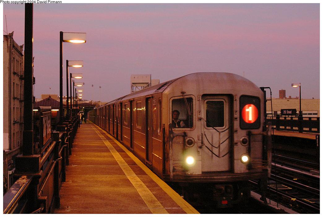 (213k, 1044x702)<br><b>Country:</b> United States<br><b>City:</b> New York<br><b>System:</b> New York City Transit<br><b>Line:</b> IRT West Side Line<br><b>Location:</b> 215th Street <br><b>Route:</b> 1<br><b>Car:</b> R-62A (Bombardier, 1984-1987)  2205 <br><b>Photo by:</b> David Pirmann<br><b>Date:</b> 11/6/2004<br><b>Viewed (this week/total):</b> 1 / 3060