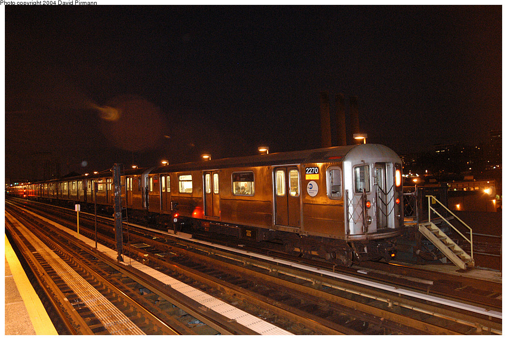 (302k, 1044x701)<br><b>Country:</b> United States<br><b>City:</b> New York<br><b>System:</b> New York City Transit<br><b>Line:</b> IRT West Side Line<br><b>Location:</b> 215th Street <br><b>Route:</b> 1<br><b>Car:</b> R-62A (Bombardier, 1984-1987)  2270 <br><b>Photo by:</b> David Pirmann<br><b>Date:</b> 11/6/2004<br><b>Viewed (this week/total):</b> 2 / 3652