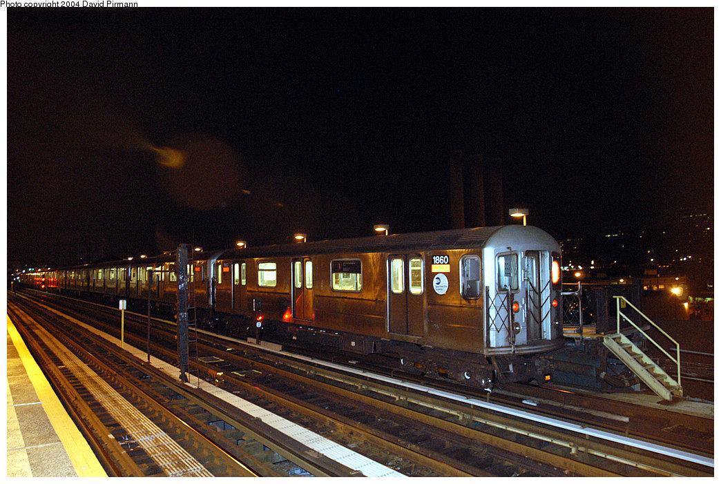 (298k, 1044x701)<br><b>Country:</b> United States<br><b>City:</b> New York<br><b>System:</b> New York City Transit<br><b>Line:</b> IRT West Side Line<br><b>Location:</b> 215th Street <br><b>Route:</b> 1<br><b>Car:</b> R-62A (Bombardier, 1984-1987)  1860 <br><b>Photo by:</b> David Pirmann<br><b>Date:</b> 11/6/2004<br><b>Viewed (this week/total):</b> 0 / 3012