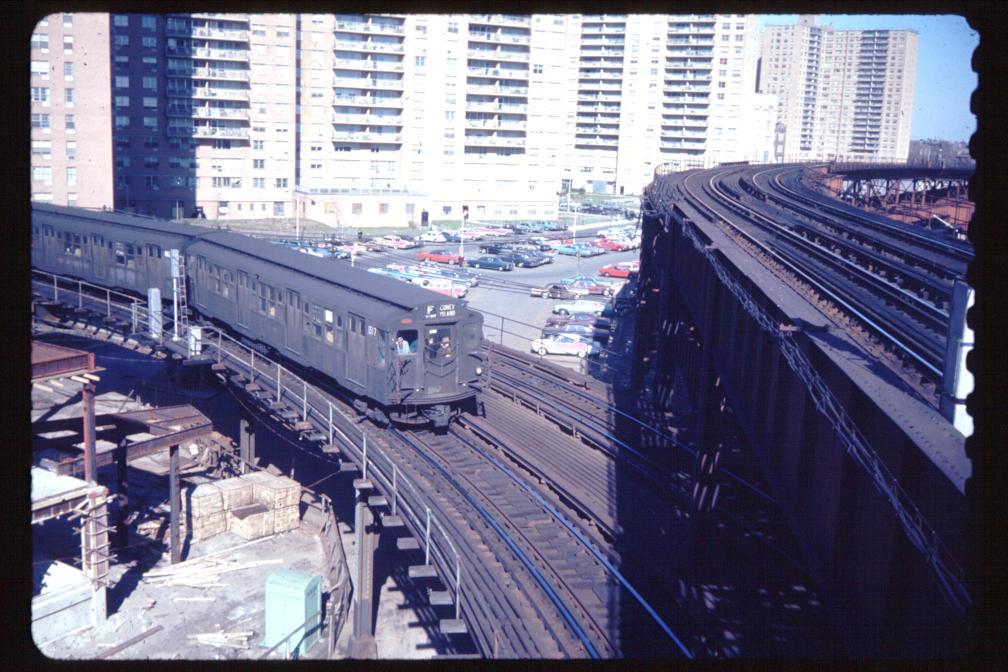 (148k, 1008x672)<br><b>Country:</b> United States<br><b>City:</b> New York<br><b>System:</b> New York City Transit<br><b>Line:</b> BMT Culver Line<br><b>Location:</b> West 8th Street <br><b>Car:</b> R-1/R-9 Series   <br><b>Photo by:</b> Joe Korman<br><b>Viewed (this week/total):</b> 0 / 3490
