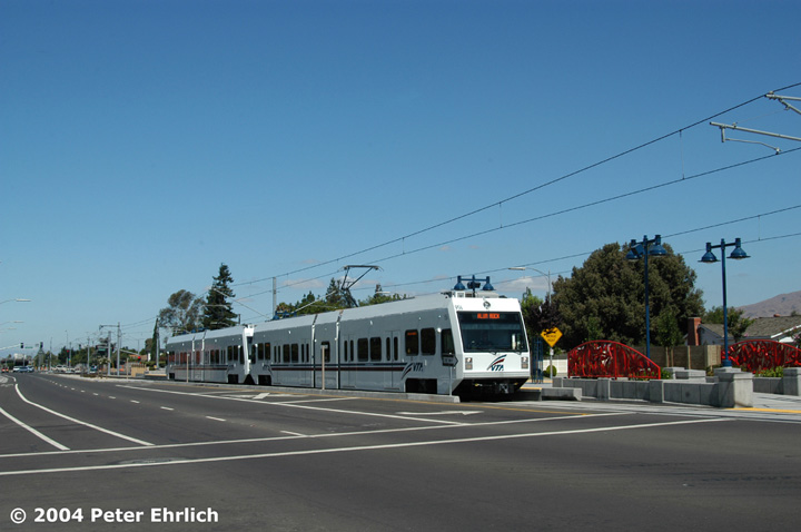 (96k, 720x478)<br><b>Country:</b> United States<br><b>City:</b> San Jose, CA<br><b>System:</b> Santa Clara VTA<br><b>Line:</b> VTA Tasman East/Capitol<br><b>Location:</b> Hostetter <br><b>Car:</b> VTA Kinki-Sharyo 956 <br><b>Photo by:</b> Peter Ehrlich<br><b>Date:</b> 8/25/2004<br><b>Viewed (this week/total):</b> 2 / 1571