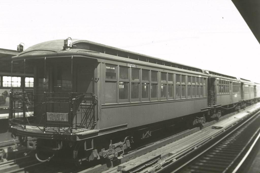 (124k, 1024x680)<br><b>Country:</b> United States<br><b>City:</b> New York<br><b>System:</b> New York City Transit<br><b>Line:</b> BMT Nassau Street/Jamaica Line<br><b>Location:</b> 111th Street <br><b>Car:</b> BMT Elevated Gate Car 1201 <br><b>Collection of:</b> Joe Testagrose<br><b>Viewed (this week/total):</b> 0 / 2680
