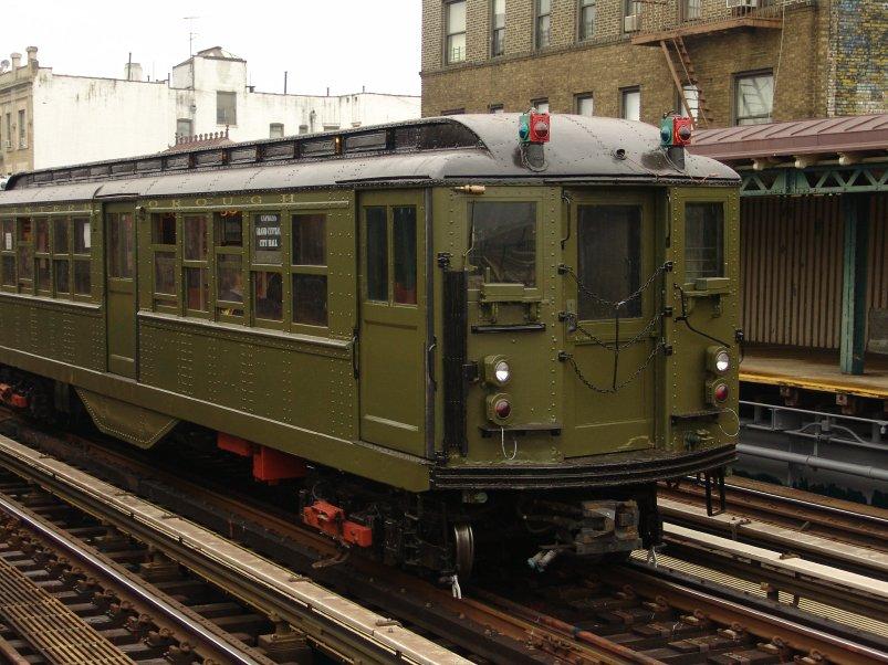 (116k, 803x602)<br><b>Country:</b> United States<br><b>City:</b> New York<br><b>System:</b> New York City Transit<br><b>Line:</b> IRT West Side Line<br><b>Location:</b> 238th Street <br><b>Route:</b> Fan Trip<br><b>Car:</b> Low-V (Museum Train) 5443 <br><b>Photo by:</b> Richard Panse<br><b>Date:</b> 11/21/2004<br><b>Viewed (this week/total):</b> 1 / 3040