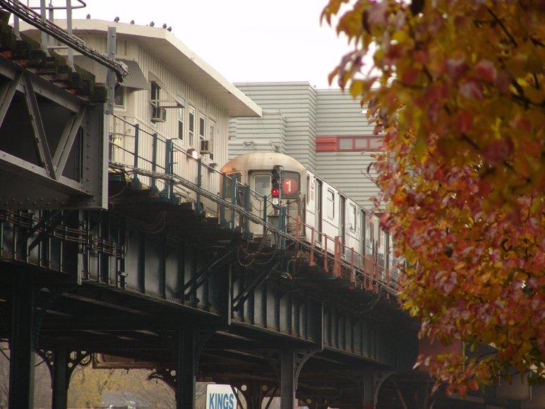(92k, 772x579)<br><b>Country:</b> United States<br><b>City:</b> New York<br><b>System:</b> New York City Transit<br><b>Line:</b> IRT West Side Line<br><b>Location:</b> 242nd Street/Van Cortlandt Park <br><b>Route:</b> 1<br><b>Photo by:</b> Richard Panse<br><b>Date:</b> 11/21/2004<br><b>Viewed (this week/total):</b> 2 / 4795
