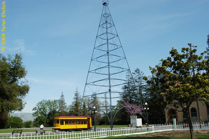 (169k, 720x478)<br><b>Country:</b> United States<br><b>City:</b> San Jose, CA<br><b>System:</b> Kelley Park Vintage Trolley <br><b>Car:</b>  143 <br><b>Photo by:</b> Peter Ehrlich<br><b>Date:</b> 3/28/2004<br><b>Viewed (this week/total):</b> 0 / 1798