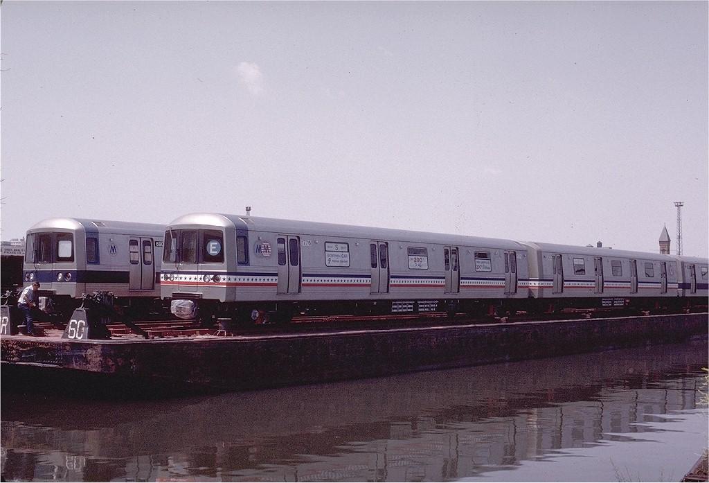 (195k, 1024x697)<br><b>Country:</b> United States<br><b>City:</b> Hoboken, NJ<br><b>System:</b> New York City Transit<br><b>Location:</b> Hoboken Yard <br><b>Car:</b> R-46 (Pullman-Standard, 1974-75) 680 <br><b>Photo by:</b> Gerald H. Landau<br><b>Collection of:</b> Joe Testagrose<br><b>Date:</b> 6/27/1976<br><b>Viewed (this week/total):</b> 1 / 3053