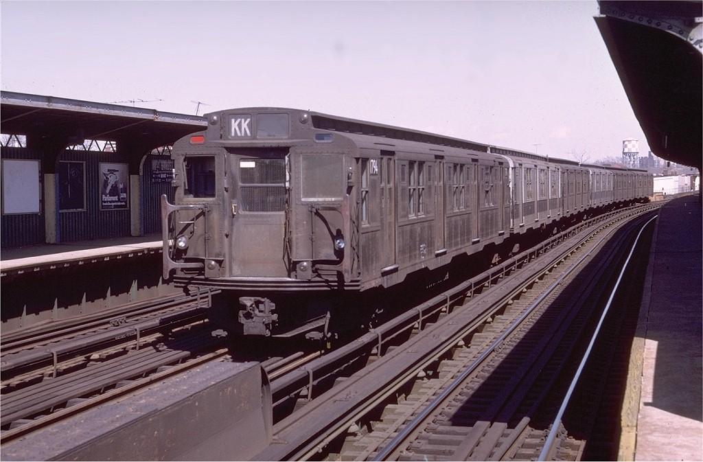 (183k, 1024x673)<br><b>Country:</b> United States<br><b>City:</b> New York<br><b>System:</b> New York City Transit<br><b>Line:</b> BMT Nassau Street/Jamaica Line<br><b>Location:</b> 111th Street <br><b>Route:</b> QJ<br><b>Car:</b> R-9 (Pressed Steel, 1940)  1794 <br><b>Photo by:</b> Doug Grotjahn<br><b>Collection of:</b> Joe Testagrose<br><b>Date:</b> 3/26/1972<br><b>Viewed (this week/total):</b> 0 / 3665