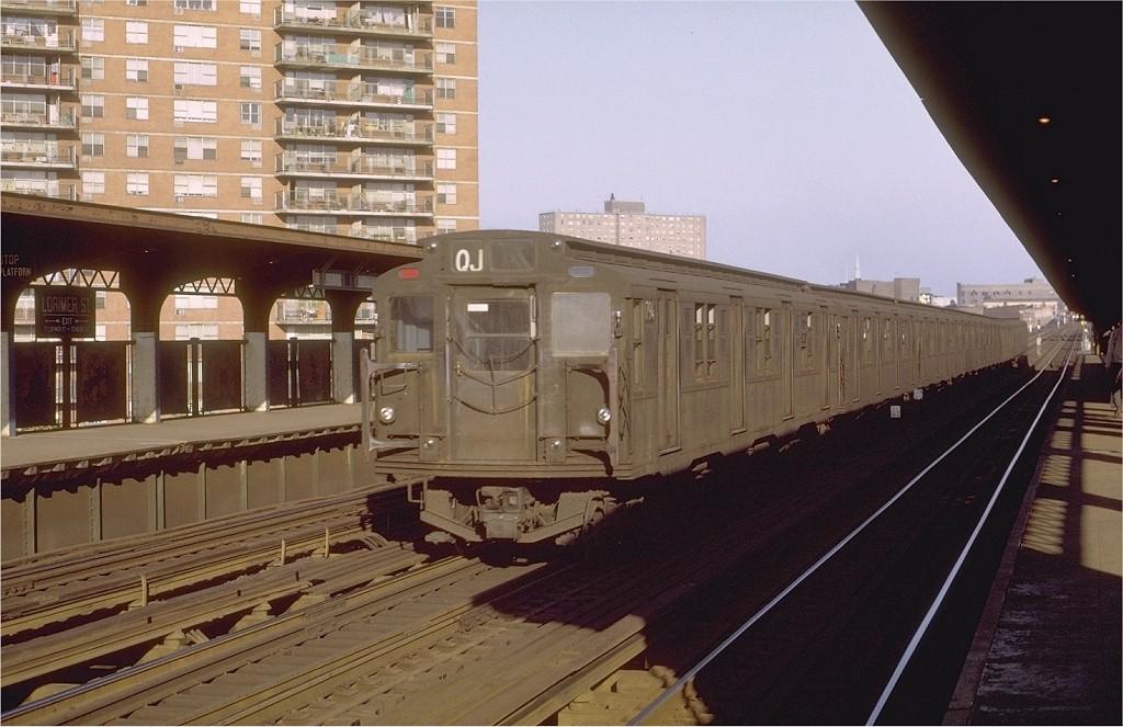 (185k, 1024x663)<br><b>Country:</b> United States<br><b>City:</b> New York<br><b>System:</b> New York City Transit<br><b>Line:</b> BMT Nassau Street/Jamaica Line<br><b>Location:</b> Lorimer Street <br><b>Route:</b> QJ<br><b>Car:</b> R-9 (Pressed Steel, 1940)  1794 <br><b>Photo by:</b> Joe Testagrose<br><b>Date:</b> 6/1/1971<br><b>Viewed (this week/total):</b> 1 / 2479