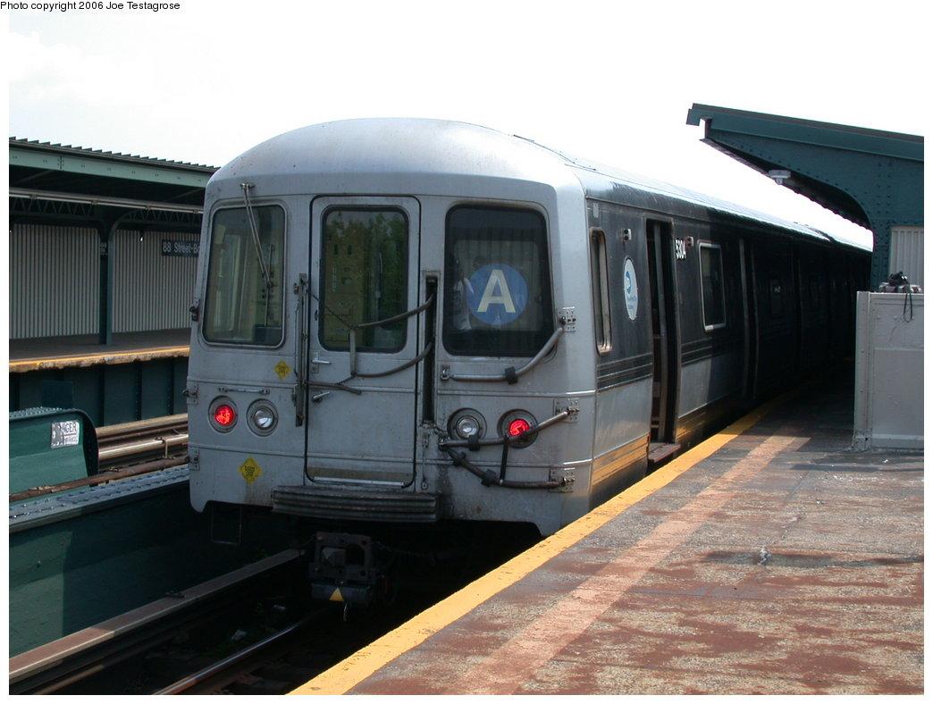 (175k, 1044x788)<br><b>Country:</b> United States<br><b>City:</b> New York<br><b>System:</b> New York City Transit<br><b>Line:</b> IND Fulton Street Line<br><b>Location:</b> 88th Street/Boyd Avenue <br><b>Route:</b> A<br><b>Car:</b> R-44 (St. Louis, 1971-73) 5304 <br><b>Photo by:</b> Joe Testagrose<br><b>Date:</b> 7/17/2004<br><b>Viewed (this week/total):</b> 1 / 3169