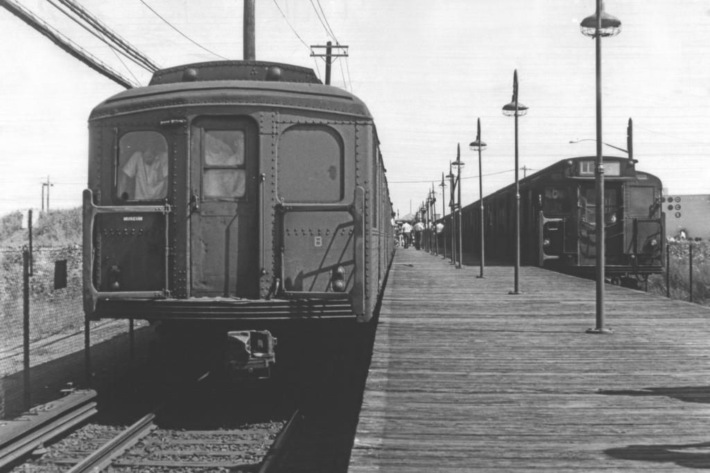 (234k, 1024x686)<br><b>Country:</b> United States<br><b>City:</b> New York<br><b>System:</b> New York City Transit<br><b>Line:</b> BMT Canarsie Line<br><b>Location:</b> East 105th Street <br><b>Route:</b> Fan Trip<br><b>Car:</b> BMT A/B-Type Standard 2392 <br><b>Photo by:</b> Doug Grotjahn<br><b>Collection of:</b> Joe Testagrose<br><b>Date:</b> 8/23/1969<br><b>Viewed (this week/total):</b> 0 / 3413