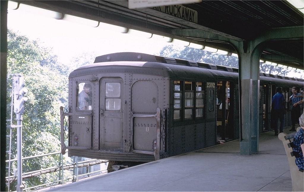 (207k, 1024x647)<br><b>Country:</b> United States<br><b>City:</b> New York<br><b>System:</b> New York City Transit<br><b>Line:</b> IND Rockaway<br><b>Location:</b> Mott Avenue/Far Rockaway <br><b>Route:</b> Fan Trip<br><b>Car:</b> BMT A/B-Type Standard 2392 <br><b>Photo by:</b> Joe Testagrose<br><b>Date:</b> 8/23/1969<br><b>Viewed (this week/total):</b> 0 / 2611