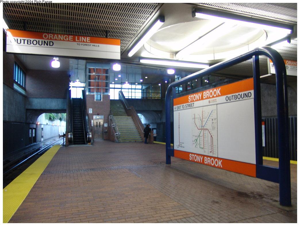 (187k, 1044x788)<br><b>Country:</b> United States<br><b>City:</b> Boston, MA<br><b>System:</b> MBTA<br><b>Line:</b> MBTA Orange Line<br><b>Location:</b> Stony Brook <br><b>Photo by:</b> Richard Panse<br><b>Date:</b> 9/18/2004<br><b>Viewed (this week/total):</b> 1 / 3212