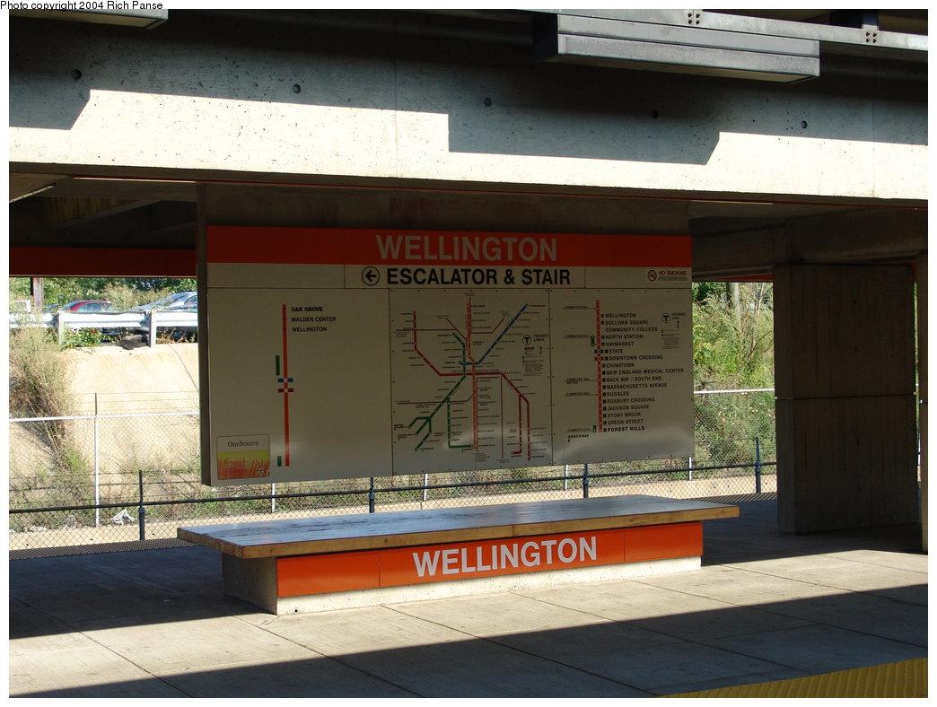 (177k, 1044x788)<br><b>Country:</b> United States<br><b>City:</b> Boston, MA<br><b>System:</b> MBTA<br><b>Line:</b> MBTA Orange Line<br><b>Location:</b> Wellington<br><b>Photo by:</b> Richard Panse<br><b>Date:</b> 9/3/2004<br><b>Viewed (this week/total):</b> 0 / 3069