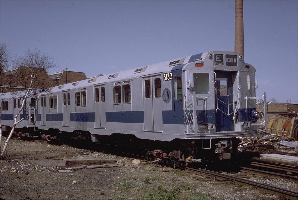 (234k, 1024x688)<br><b>Country:</b> United States<br><b>City:</b> New York<br><b>System:</b> New York City Transit<br><b>Location:</b> Coney Island Yard<br><b>Car:</b> R-10 (American Car & Foundry, 1948) 3133 <br><b>Photo by:</b> Steve Zabel<br><b>Collection of:</b> Joe Testagrose<br><b>Date:</b> 4/23/1971<br><b>Viewed (this week/total):</b> 2 / 3288