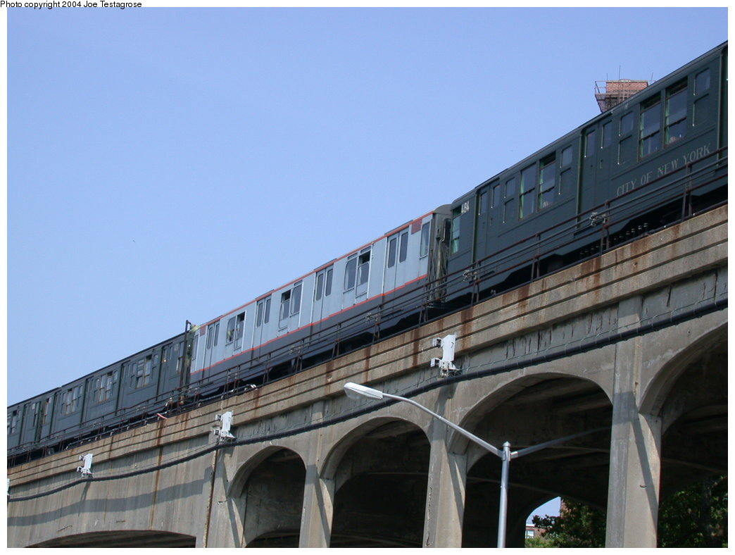 (167k, 1044x788)<br><b>Country:</b> United States<br><b>City:</b> New York<br><b>System:</b> New York City Transit<br><b>Line:</b> IND Rockaway<br><b>Location:</b> Hammels Wye <br><b>Route:</b> Fan Trip<br><b>Car:</b> R-7A (Pullman, 1938)  1575 <br><b>Photo by:</b> Joe Testagrose<br><b>Date:</b> 7/17/2004<br><b>Viewed (this week/total):</b> 1 / 3237