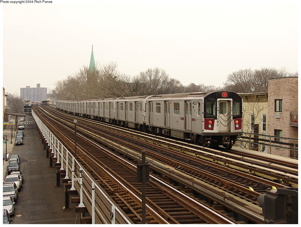 (232k, 1044x788)<br><b>Country:</b> United States<br><b>City:</b> New York<br><b>System:</b> New York City Transit<br><b>Line:</b> IRT Pelham Line<br><b>Location:</b> Zerega Avenue <br><b>Route:</b> 6<br><b>Car:</b> R-142A (Primary Order, Kawasaki, 1999-2002)  7471 <br><b>Photo by:</b> Richard Panse<br><b>Date:</b> 12/19/2004<br><b>Viewed (this week/total):</b> 0 / 4550