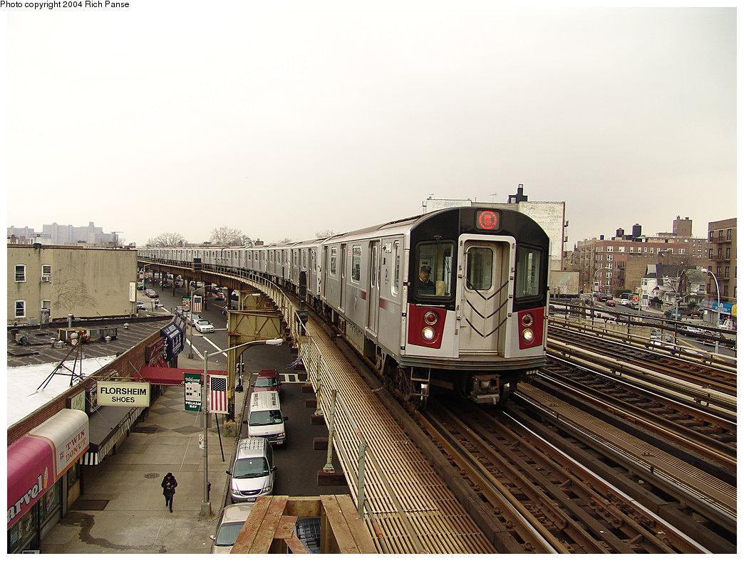 (219k, 1044x788)<br><b>Country:</b> United States<br><b>City:</b> New York<br><b>System:</b> New York City Transit<br><b>Line:</b> IRT Pelham Line<br><b>Location:</b> Buhre Avenue <br><b>Route:</b> 6<br><b>Car:</b> R-142A (Primary Order, Kawasaki, 1999-2002)  7440 <br><b>Photo by:</b> Richard Panse<br><b>Date:</b> 12/19/2004<br><b>Viewed (this week/total):</b> 1 / 5681
