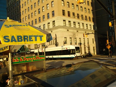 (54k, 480x360)<br><b>Country:</b> United States<br><b>City:</b> Jersey City, NJ<br><b>System:</b> Hudson Bergen Light Rail<br><b>Location:</b> Exchange Place <br><b>Photo by:</b> Richard Panse<br><b>Date:</b> 11/30/2004<br><b>Viewed (this week/total):</b> 3 / 2415