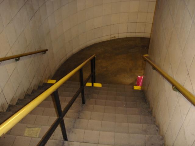 (130k, 640x480)<br><b>Country:</b> United States<br><b>City:</b> New York<br><b>System:</b> New York City Transit<br><b>Line:</b> IND 6th Avenue Line<br><b>Location:</b> 47-50th Street/Rockefeller Center <br><b>Photo by:</b> Kris Naudus<br><b>Date:</b> 1/13/2004<br><b>Notes:</b> Various entryways and signage at Rock. Center.<br><b>Viewed (this week/total):</b> 1 / 2815
